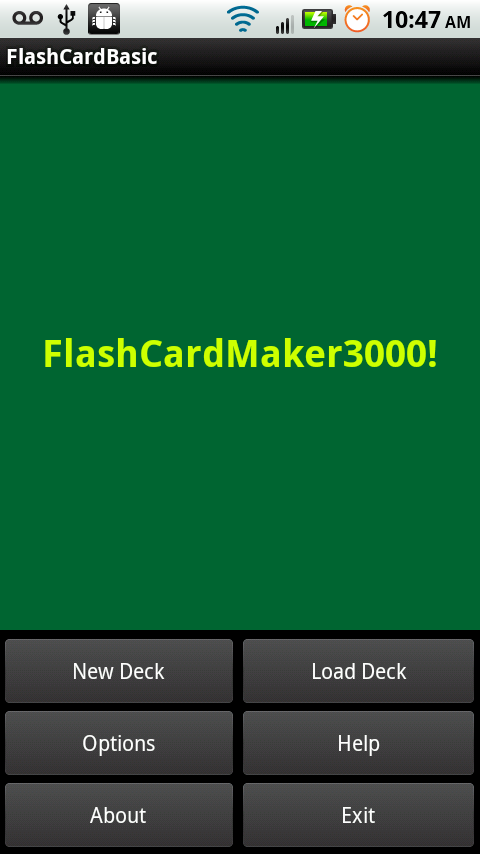 FlashCardMaker3000! Free Trial - screenshot