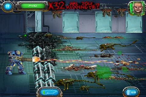 Soldier vs Aliens screenshot #2