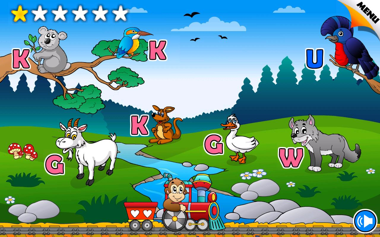 Reading Phonics Train School- screenshot