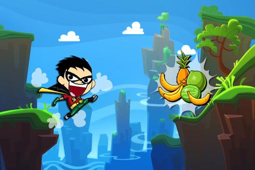 Titans Robin Jumper Fun