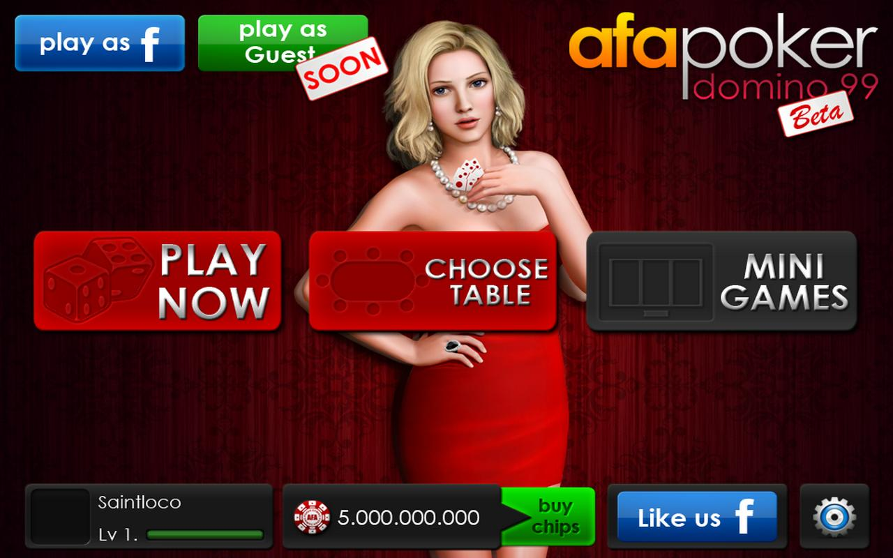 AFA Domino Poker 99 - screenshot