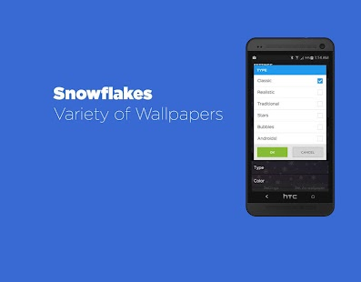 Snowflakes Live Wallpaper Free- screenshot thumbnail