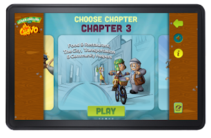Screenshot of Learn english with el Chavo
