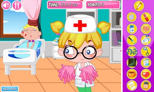 医院里偷懒