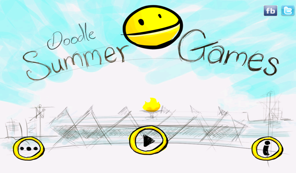 Doodle Summer Games HD- screenshot