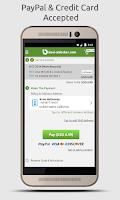 Screenshot of SIM Unlock for HTC