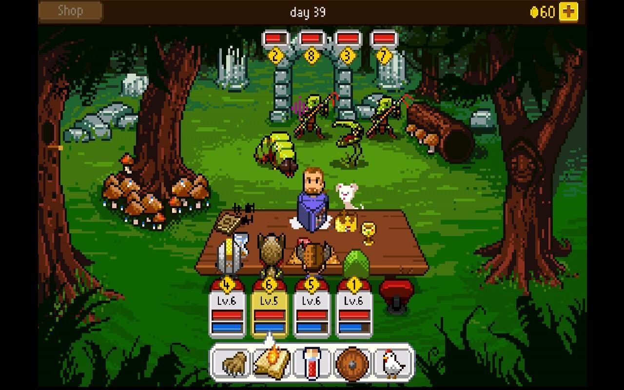 Knights of Pen & Paper +1 screenshot #23
