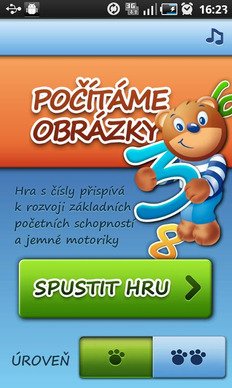 Brumíkova školička CZ - screenshot