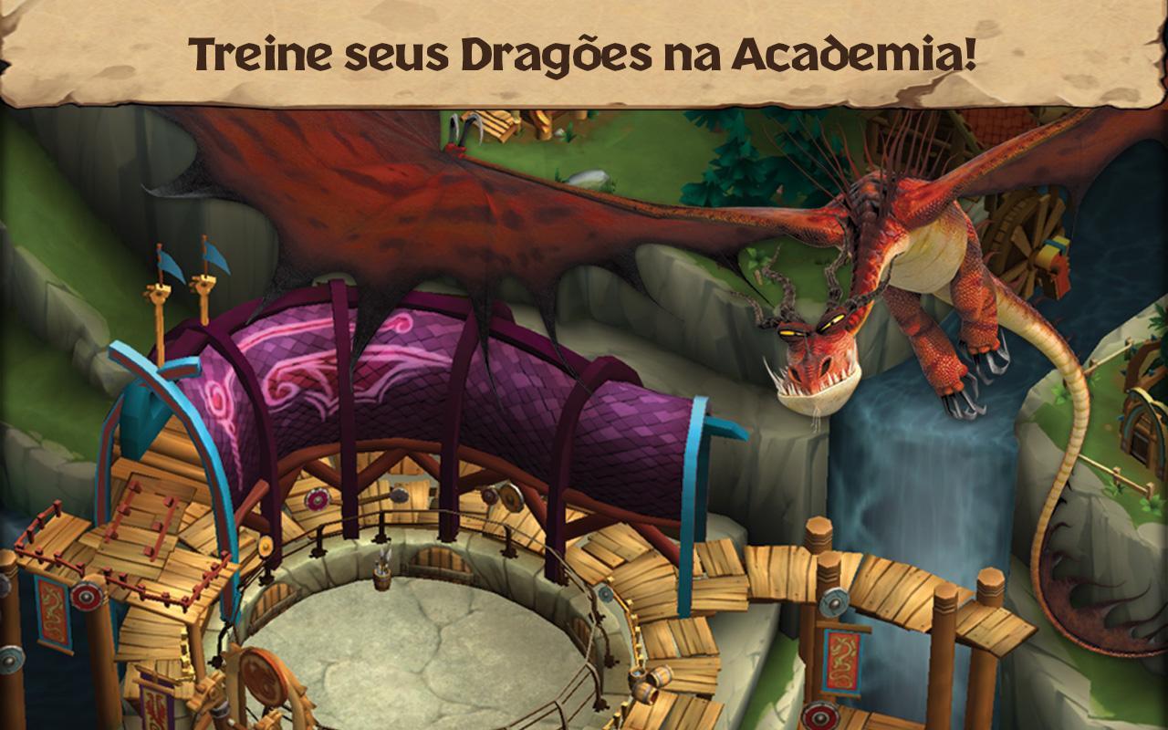 Dragões: A Ascenção de Berk - screenshot