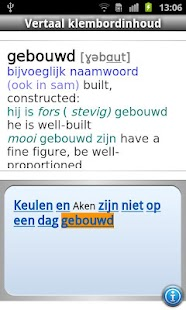 Van Dale English<>Dutch Pocket - screenshot thumbnail