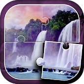 Waterfall Jigsaw Puzzle