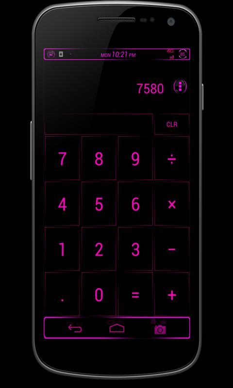 CM10/AOKP Theme: BERRY BLAST - screenshot