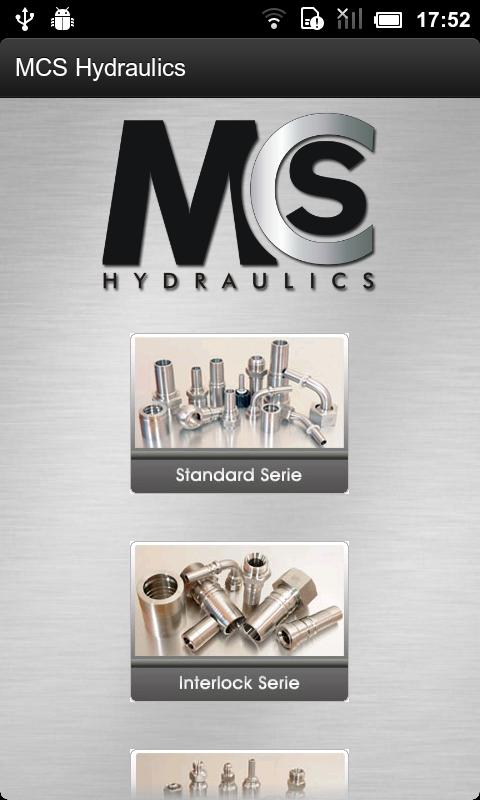 MCS Hydraulics- screenshot