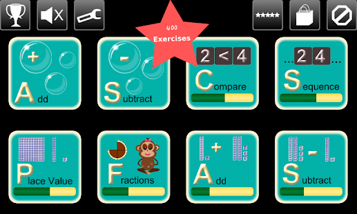 First Grade Kids Math Games - screenshot thumbnail