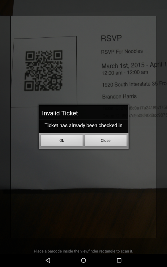Ticketbud- screenshot