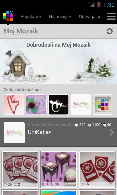 Moj Mozaik- screenshot