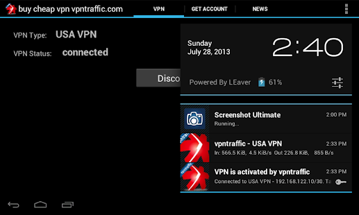 Vpntraffic client android 4- screenshot thumbnail