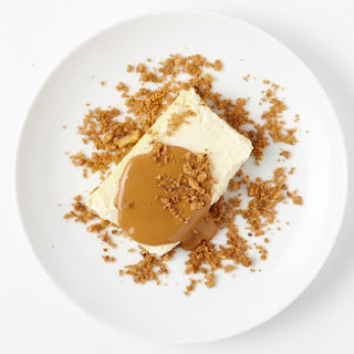 Crème Fraîche Cheesecake with Brown Butter Streusel.