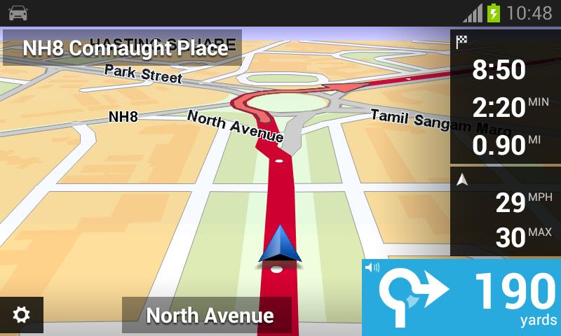 TomTom India - screenshot