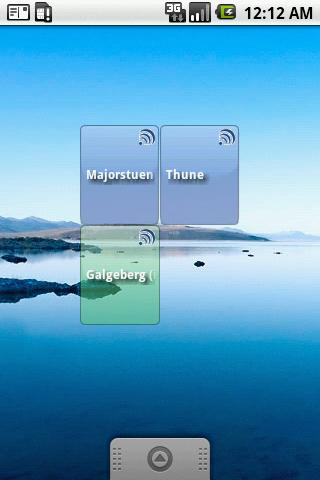 Pendlerkompis Widgets - screenshot