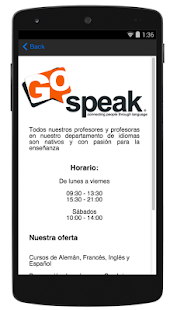 Go Speak- screenshot thumbnail