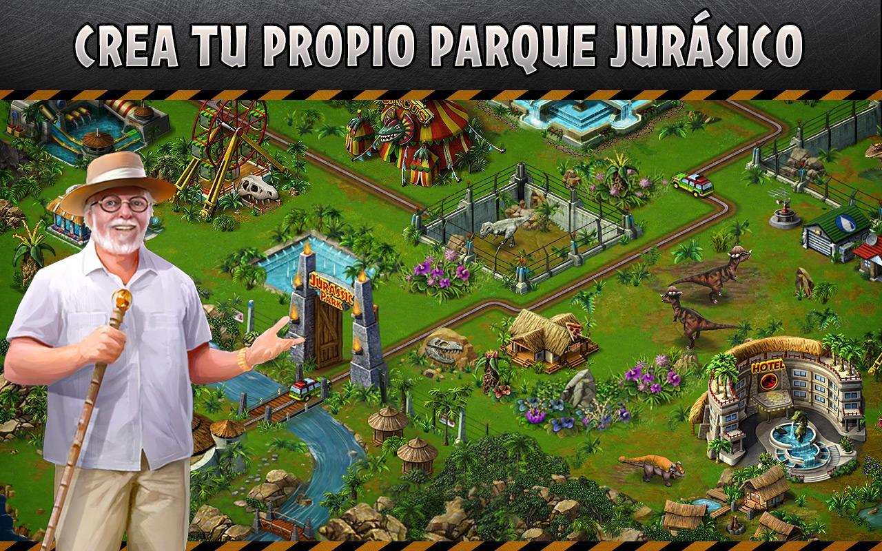 Jurassic Park™ Builder - Aplicaciones Android en Google Play