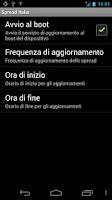 Screenshot of Spread Italia + Widget