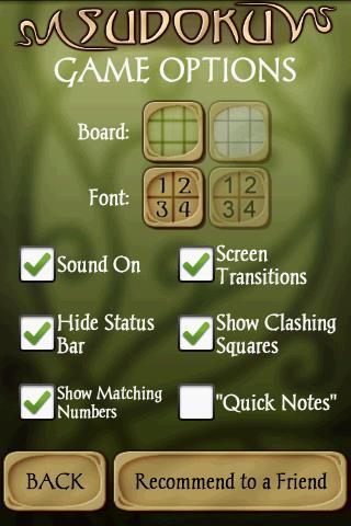 Screenshots of Sudoku Free for iPhone