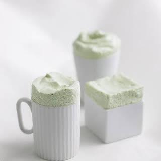 Frozen Green Tea Souffles.