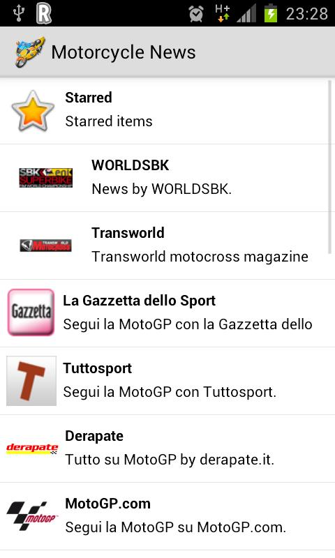 Motorcycle News- screenshot