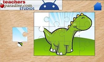 Screenshot of Dinosaurs Jigsaw Puzzles