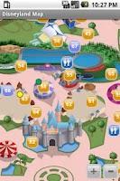 Screenshot of Disneyland California Maps