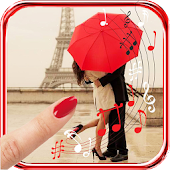 Paris Red Umbrella HQ LWP