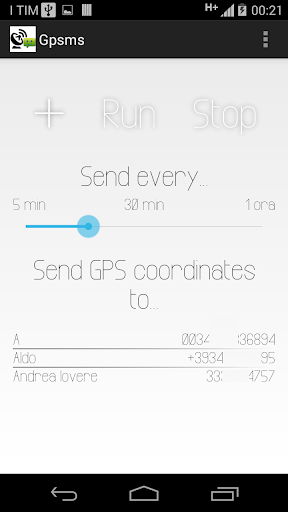 Gpsms tracking