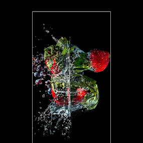 Ajouter Une Touche de Couleur(Through the WaterWall) by Thomas Crown - Food & Drink Fruits & Vegetables (  )