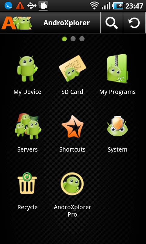 AndroXplorer File Manager - screenshot