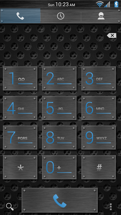 Mesh Blue CM11/AOKP Theme- screenshot