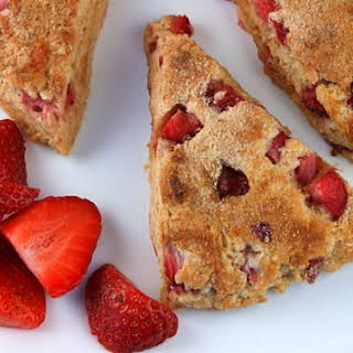 Whole Grain Strawberry Scones.