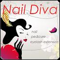 Naildiva(네일 diva_nail art) logo