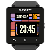 LCARS inspired clock Sony SW2