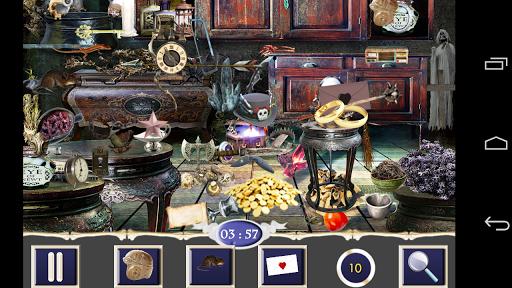 玩免費解謎APP|下載隱藏的對象 - 鬧鬼的世界 app不用錢|硬是要APP