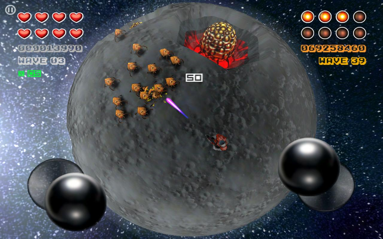Space Trooper USA- screenshot