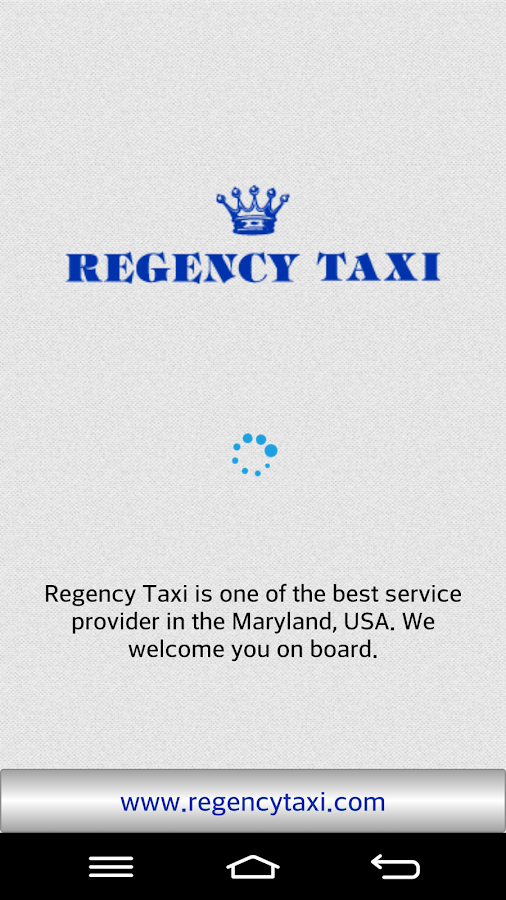 Regency Taxi- screenshot