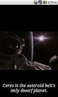 Screenshot of Daily Space Trivia Free