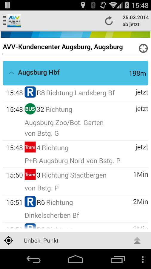 AVV.mobil- screenshot