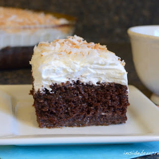 Chocolate Cream of Coconut Cake.