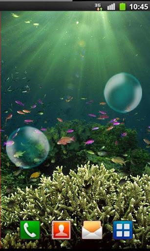 Deep Water Fish live wallpaper