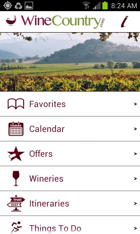 Napa and Sonoma WineCountry - screenshot