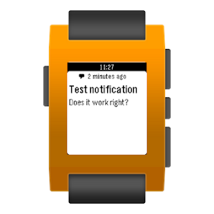 Notiwatch for Pebble- screenshot thumbnail