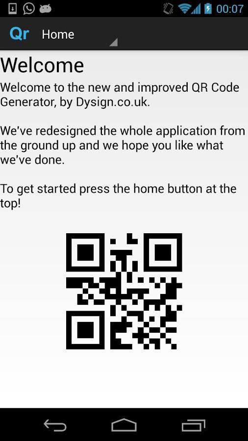 QR Code Generator- screenshot